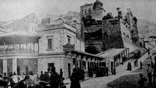 La prima linea metropolitana d'Italia era a Napoli